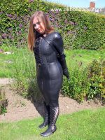 'thisgirl' Goes for a Walk in my Garden - 3 by BritBastard