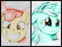 Coloration Collage #2 by PoniesInHats
