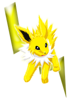 Jolteon Sparks of Energy by lunaki