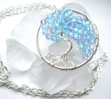 blue frost tree of life by faranway