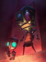 Invader Zim by jameszapata
