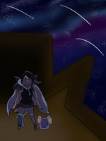 Speedpaint: All the Lights in the Sky are Stars by LackadaisicalLeopah