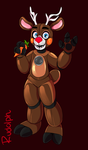 Rudolph the red nose reindeer by familyof6