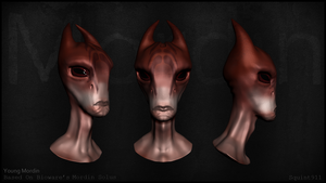 Young Mordin Solus by Squint911