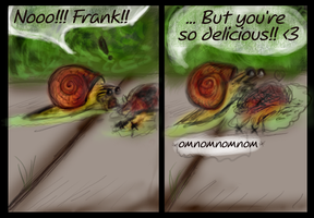 Frank is delicious... by Kinky-Slingy