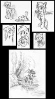 Pony Sketchdump2 by McStalins