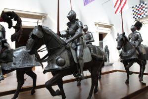 Mounted Knight group 6 by oldsoulmasquer
