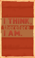 I think, therefore I am. by kei-x
