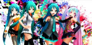 MMD Apparance Miku -CoLLeCtion- by MsYelenaJonas