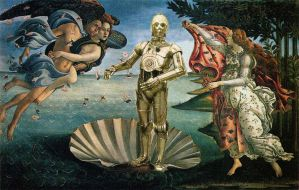 The Birth of C3PO by ropa-to