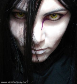 Orochimaru Makeup test by Yukilefay