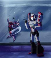 My Pet Starscream by JazzTheTiger