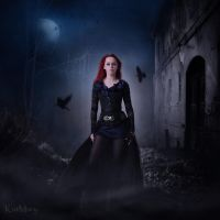 Perfect darkness by katmary