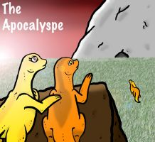 """""""The apocalypse"""" cover page by 32d"""