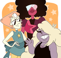 The Crystal Gems by Wi-Fu