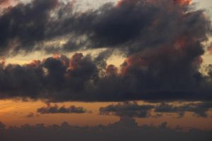 Clouds on Fire by Erebes