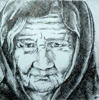 Another old woman by Crateris
