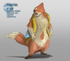Floatzel by XY-axis