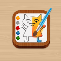 Coloring App Icon3 by tickey