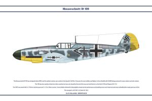 Bf 109 F-2 JG2 3 by WS-Clave