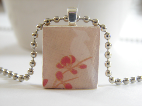 Cherry Blossom Pendant by PastryStitches