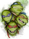TMNT - Brothers by LRitchieART