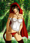 Red Riding Hood by Sajren91