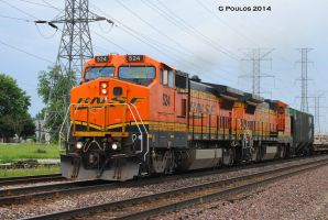BNSF Galesburg Local 0053 7-11-14 by eyepilot13