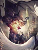 Demon vs Celestial by Shev14th