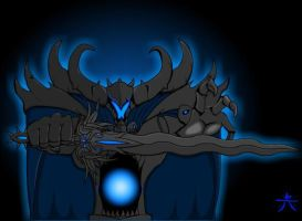 Dage the Evil poster. by Redcaterpie