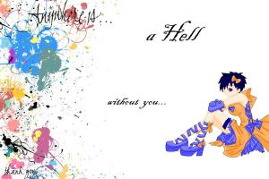 Im living in Hell... by DrawingTone