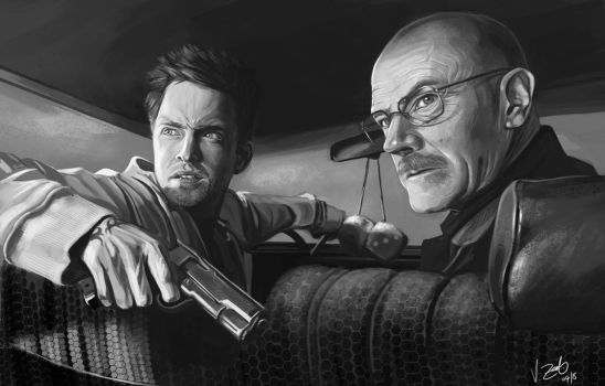 Breaking bad Fanart by Vantasy