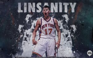 Jeremy Lin LINSANITY Wallpaper by Angelmaker666