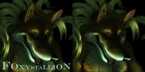 Foxystallion Icon by shadechristiwolven