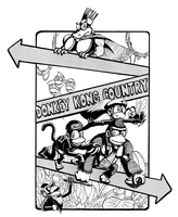 Donkey Kong Country BW by yoshiky