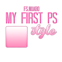 +Photoshop Style| The first x3 by FS-Nuabo
