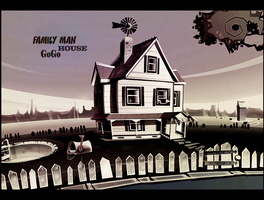 Family man Adventure House by lahabz
