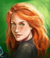 Kim Possible portrait by DavidGalopim