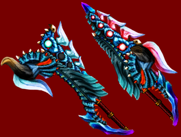 MH weapon competition entry by wyvernsmasher