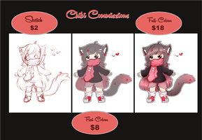 Chibi Commission Prices by Ambercatlucky2