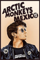 Arctic Monkeys Mexico 2012 by Fluorescentteddy