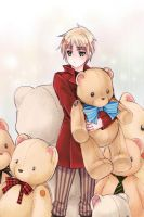 aph england and bears by mikitaka