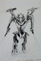 general Grievous by Kira-Mononoke