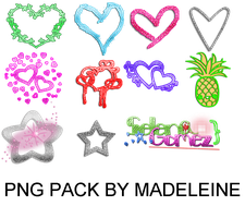 Png Pack By Madeleine png by MaddieLovesSelly