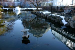 Reflections at Belle Isle by nwalter