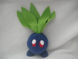 Pokemon Oddish Plushie by TerinAngel
