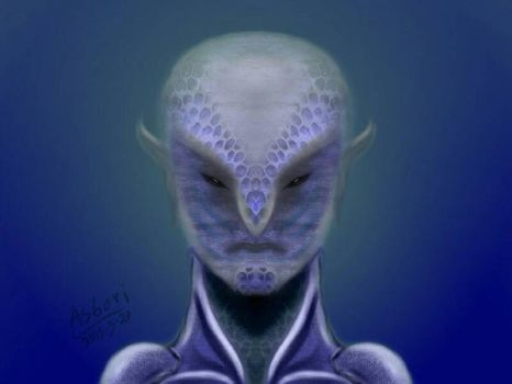Alien  by as6ori
