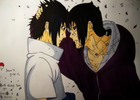I will always love you - Itachi and Sasuke 590 by TrunksJovi