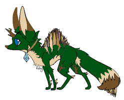 Fox Adoptable Only 5 Points CLOSED by ShadowhawkArt