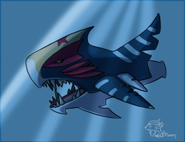 Mega Sharpedo by GoldFlareon